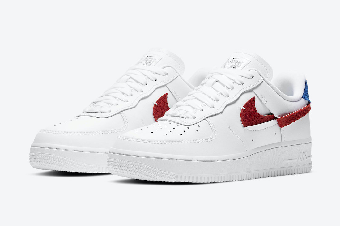 Nike Air Force 1 LXX Snakeskin DC1164-100 Release Date Info