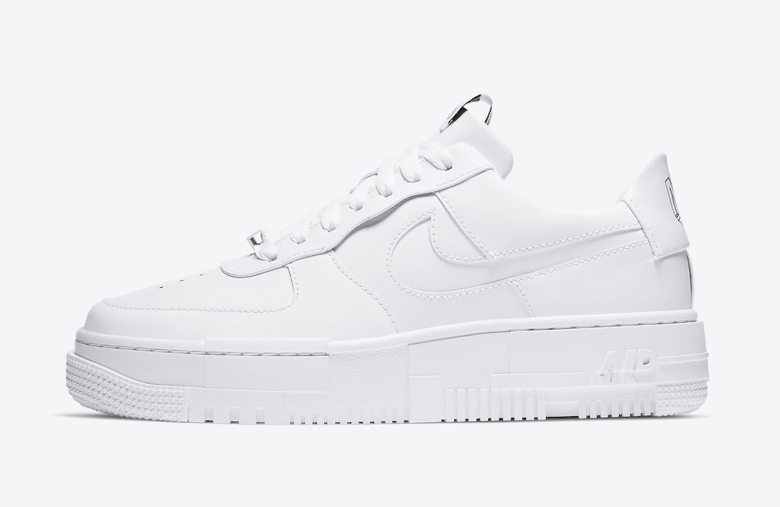 Nike Air Force 1 Pixel White CK6649-100 Release Date Info