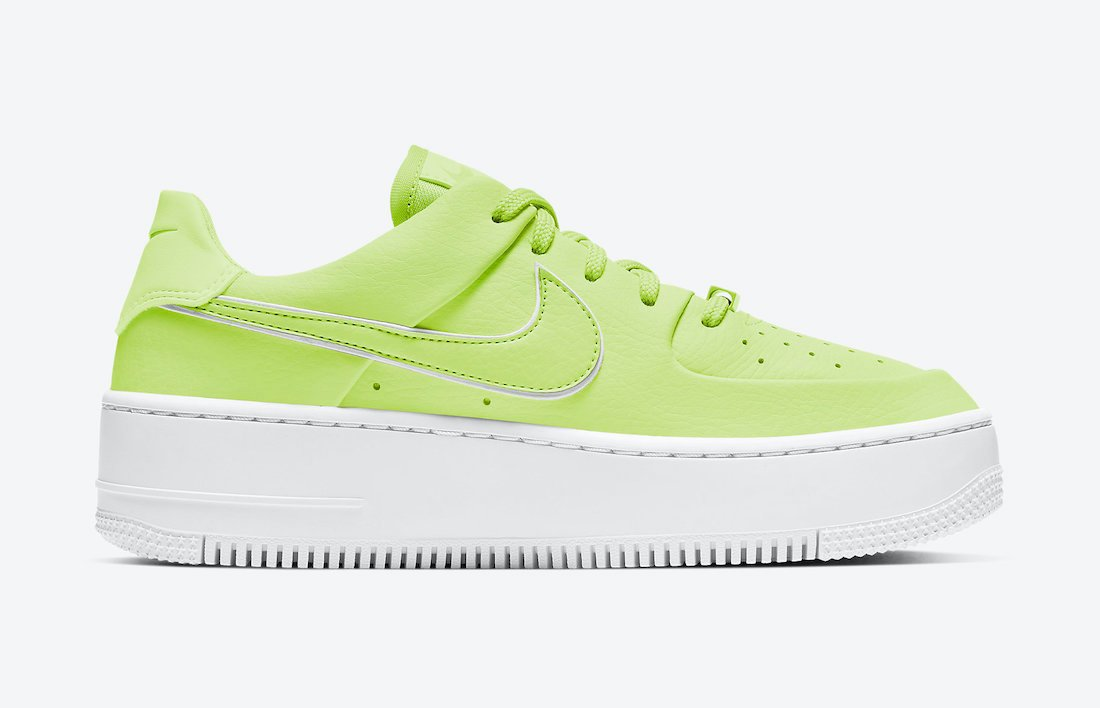 Nike Air Force 1 Sage Low Barely Volt CJ1642-700 Release Date Info