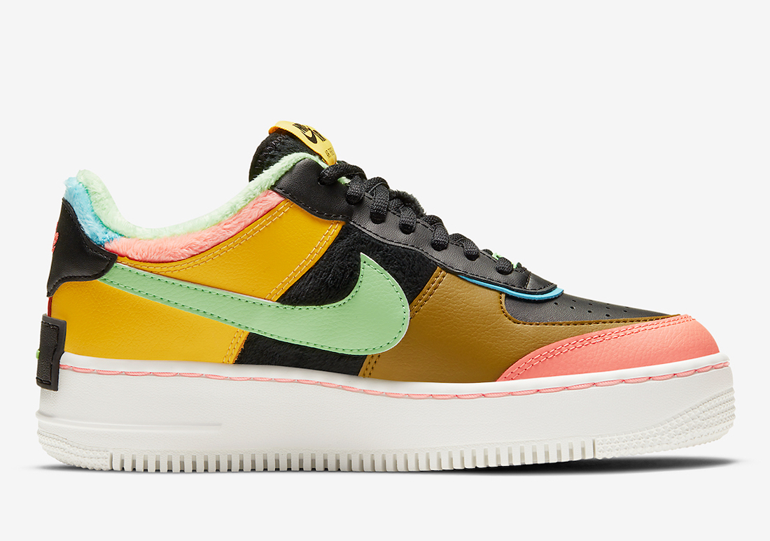 Nike Air Force 1 Shadow SE Solar Flare Atomic Pink CT1985-700 Release Date Info