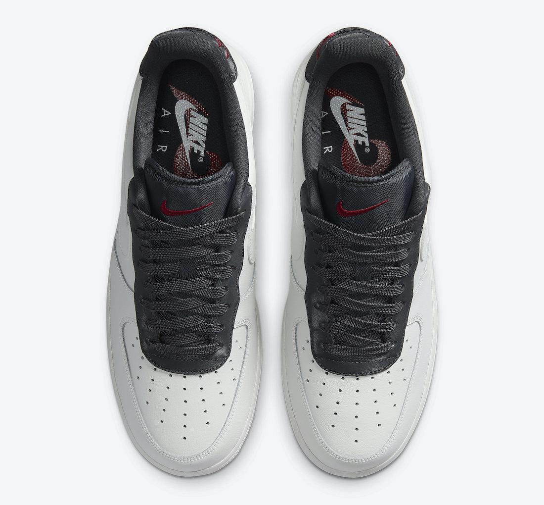 Nike Air Force 1 White Black Red CJ1629-100 Release Date Info