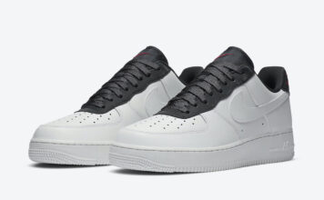 Nike Air Force 1 White Black Red CJ1629-100 Release Date Info