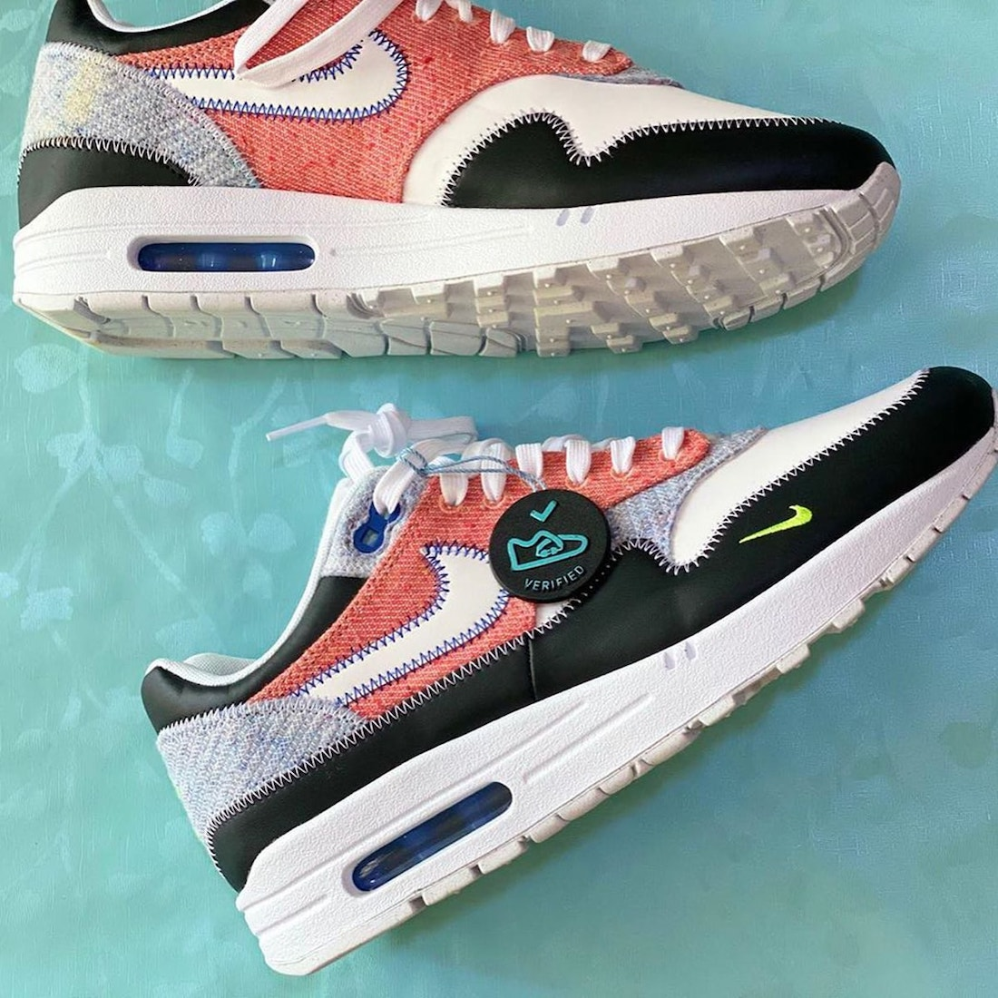 Nike Air Max 1 NRG White Black Electric Green Game Royal Release Date Info