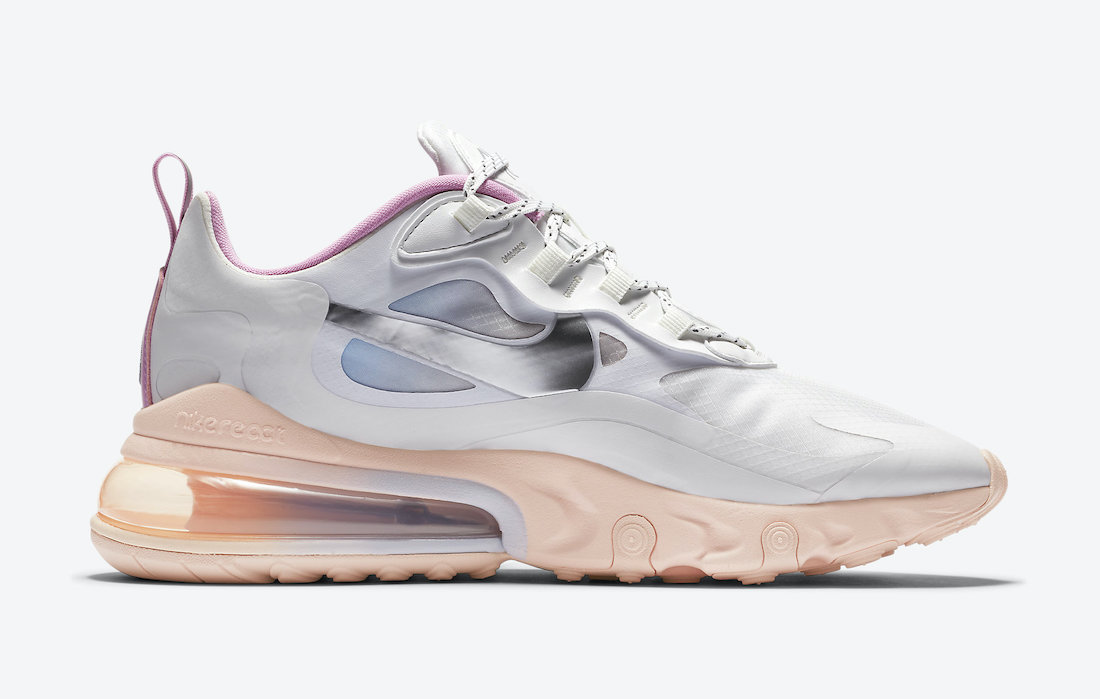 Nike Air Max 270 React Pink Washed Coral CZ8131-100 Release Date Info