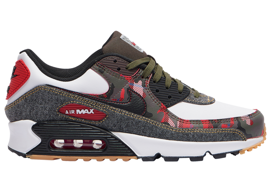 Nike Air Max 90 Camo Denim DB1967-100 Release Date Info
