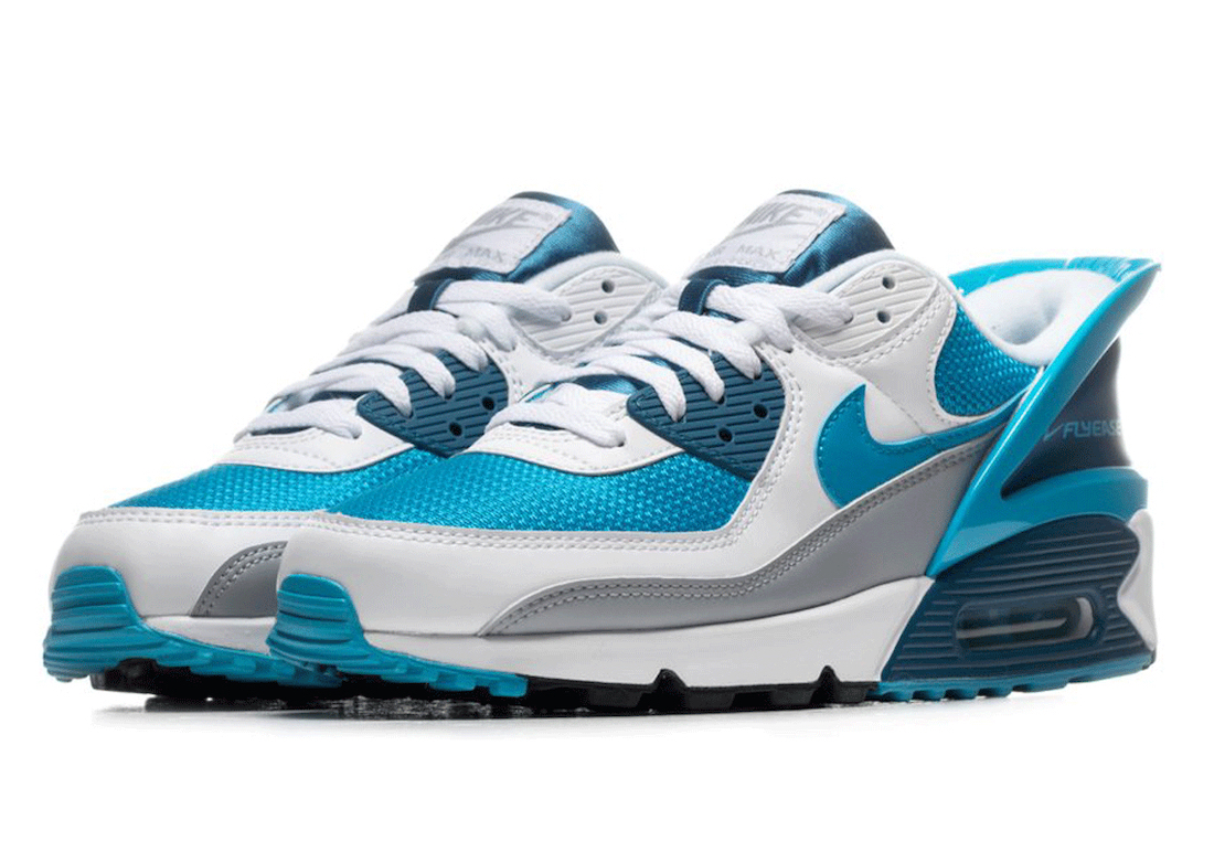 Nike Air Max 90 FlyEase Laser Blue CZ4270-100 Release Date Info | SneakerFiles