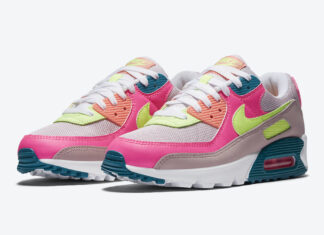 Nike Air Max 90 WMNS Pink Volt DC1865-600 Release Date Info