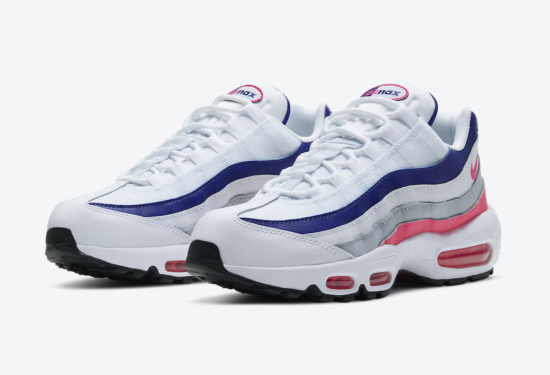 Nike Air Max 95 White Navy Pink DC9210-100 Release Date Info