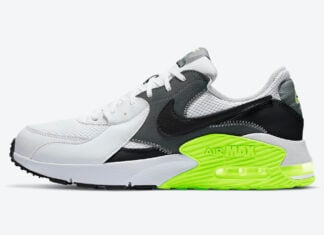 Nike Air Max Excee White Grey Black Volt CD4165-114 Release Date Info