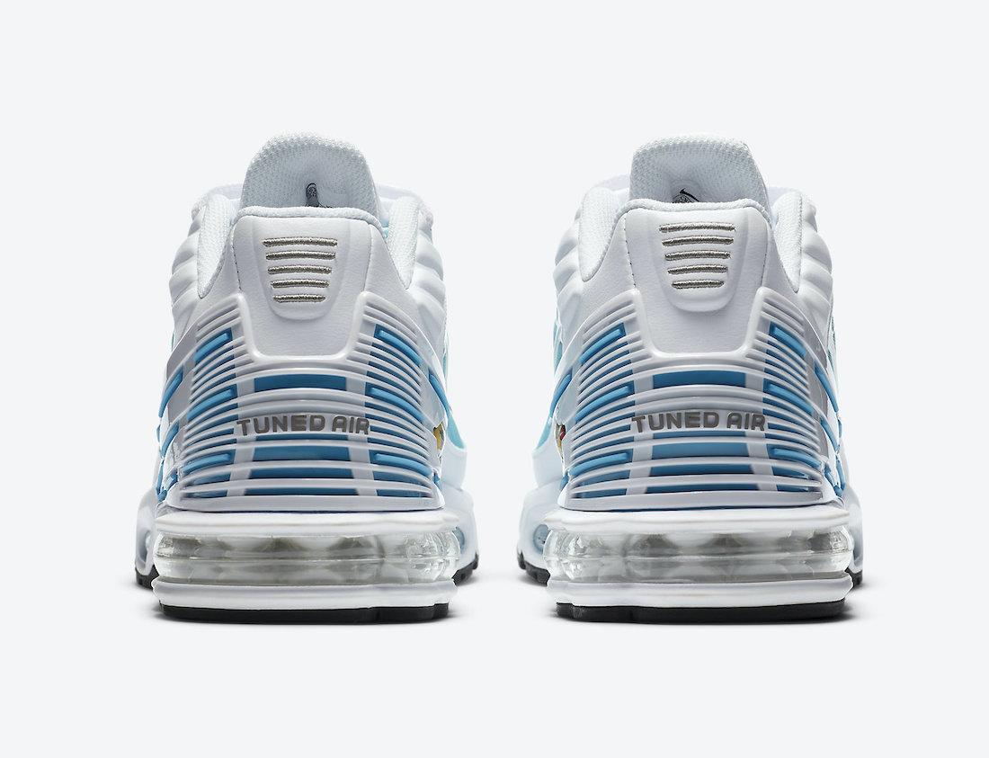 Nike Air Max Plus 3 III Laser Blue CK6715-100 Release Date Info