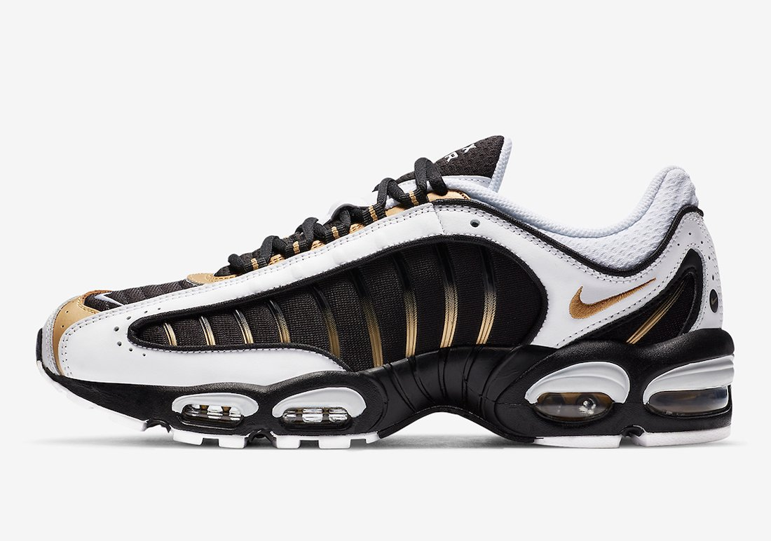 Nike Air Max Tailwind 4 IV Black Metallic Gold CT1284-001 Release Date Info