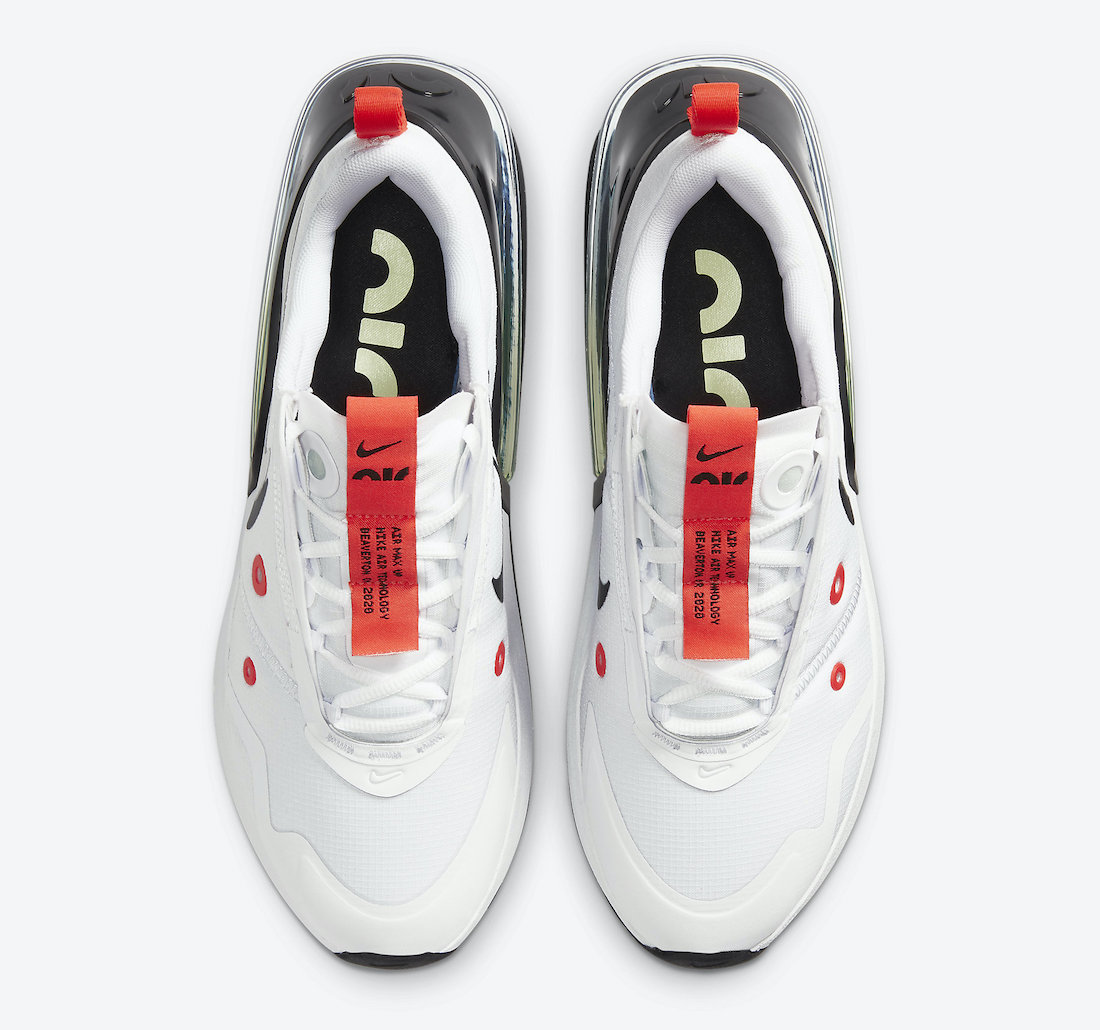 Nike Air Max Up White Platinum Tint Black Bright Crimson CK7173-100 Release Date Info