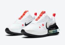 Nike Air Max Up White Platinum Tint Black Bright Crimson CK7173-100 Release Date Info