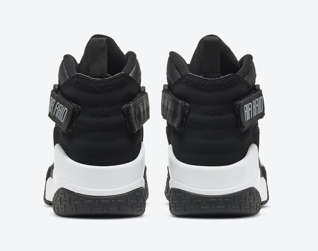 Nike Air Raid OG Black Grey DC1412-001 Release Date Info