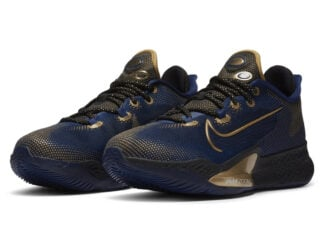 Nike Air Zoom BB NXT Navy Gold Release Date Info