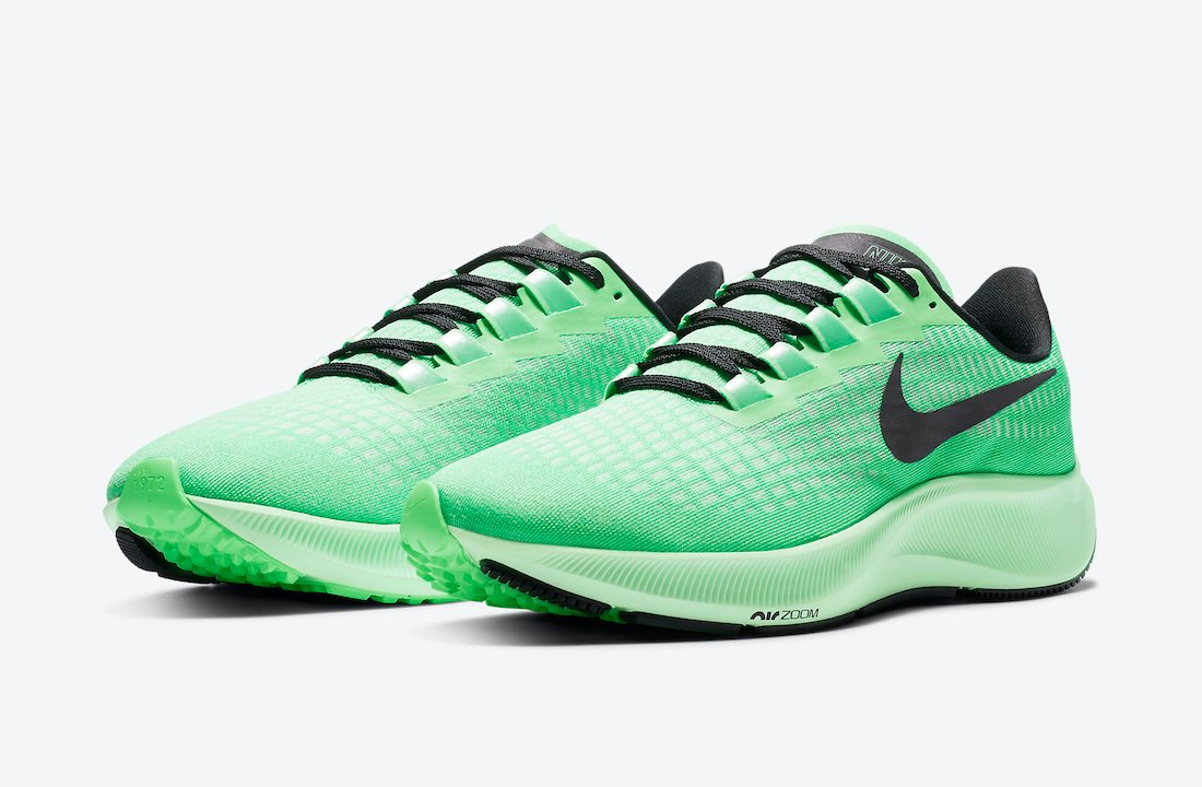 Nike Air Zoom Pegasus 37 Poison Green CZ9074-303 Release Date Info