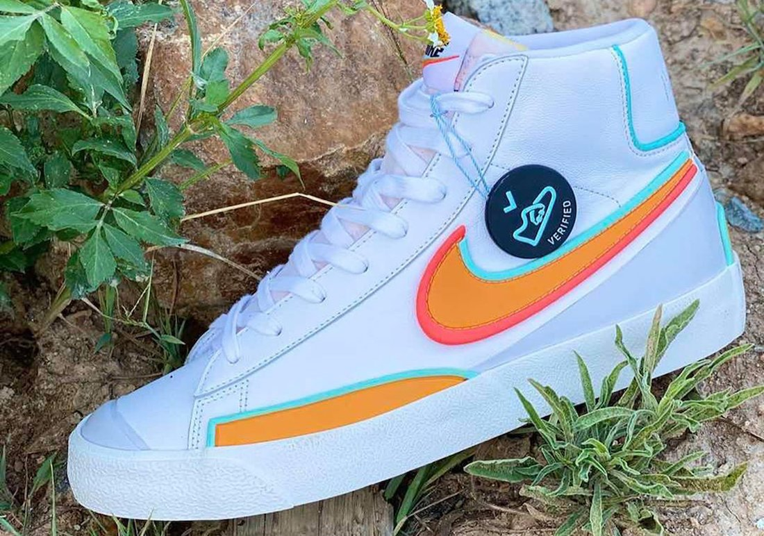This Nike Blazer Mid '77 is Part of the D/MS/X Line