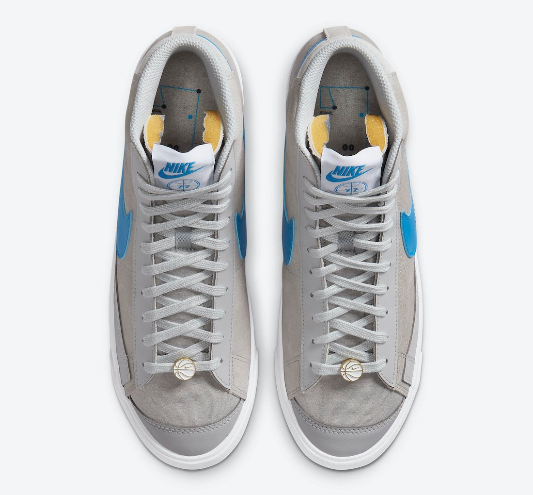 Nike Blazer Mid 77 Grey Fog Light Photo Blue CV8927-001 Release Date Info
