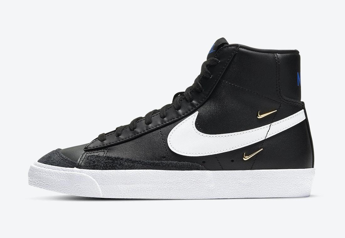Nike Blazer Mid 77 LX Black CZ4627-001 Release Date Info