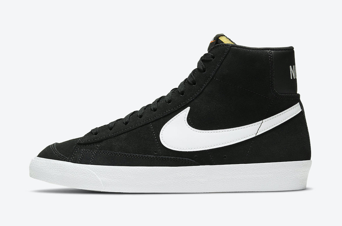 Nike Blazer Mid 77 Suede Black White CI1172-005 Release Date Info