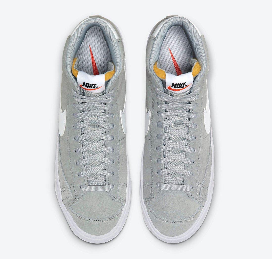 Nike Blazer Mid 77 Suede Light Smoke Grey CI1172-004 Release Date Info