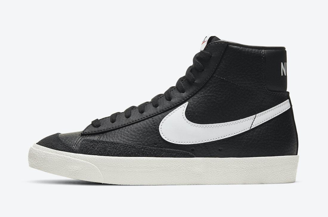 Nike Blazer Mid 77 Vintage Black Sail BQ6806-002 Release Date Info