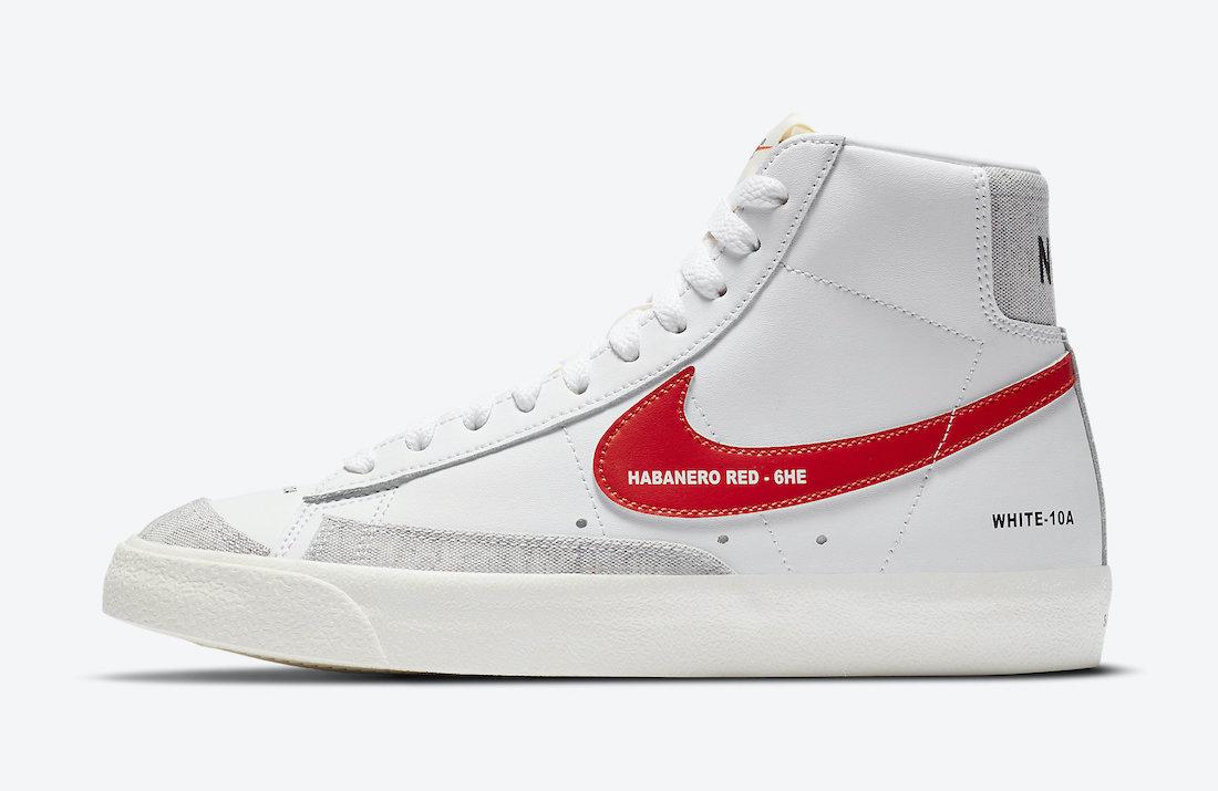Nike Blazer Mid Color Code DA2142-146 Release Date Info