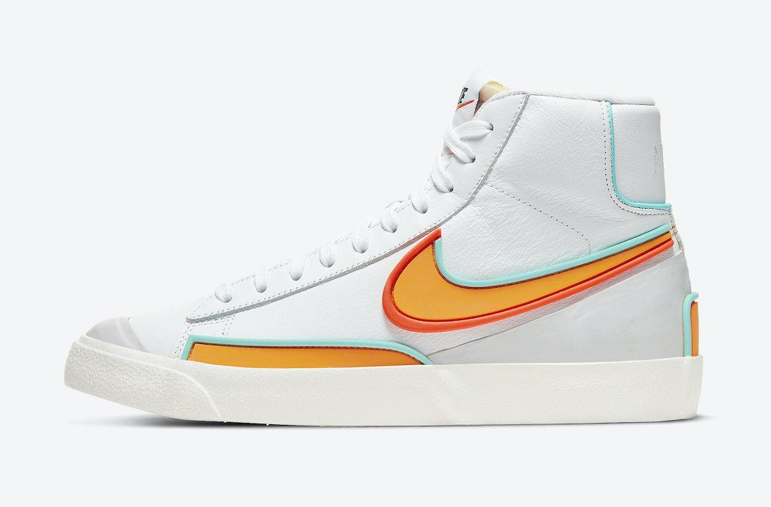 Nike Blazer Mid D/MS/X White DC1746-100 Release Date