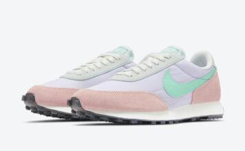 Nike Daybreak WMNS Pastel Pink Purple Blue Green DJ0413-531 Release Date Info
