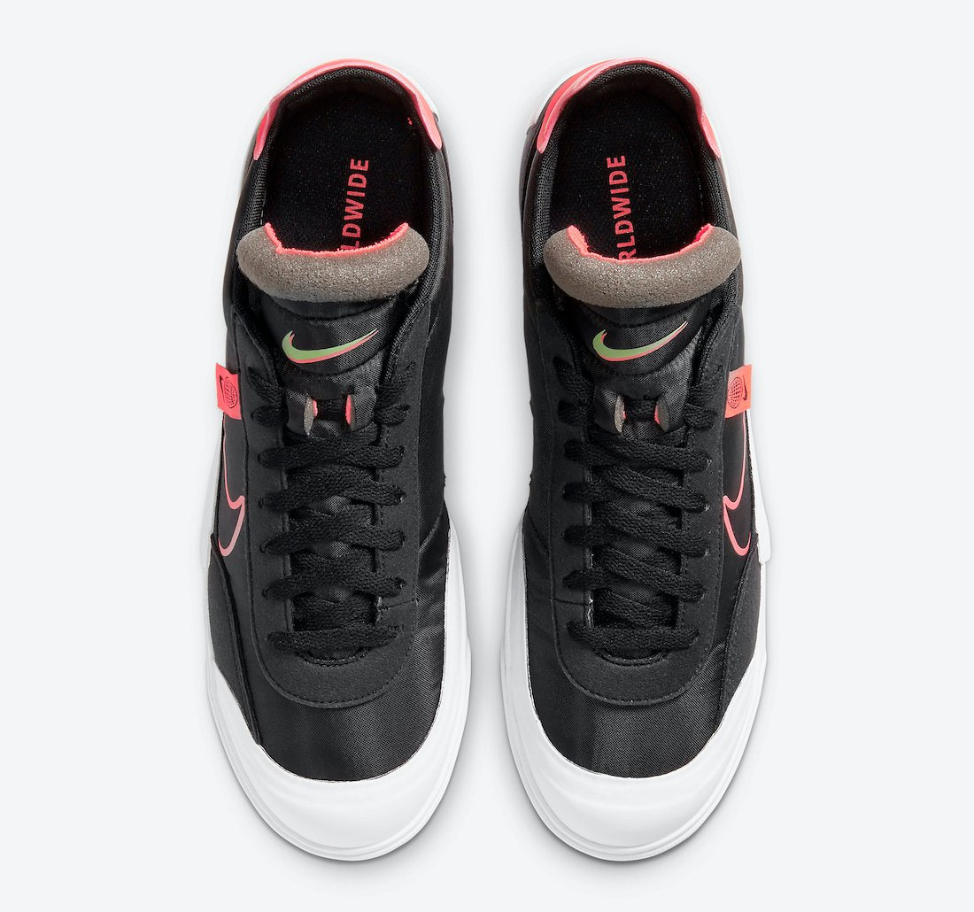 Nike Drop Type HBR Worldwide Black Crimson CZ5847-001 Release Date Info
