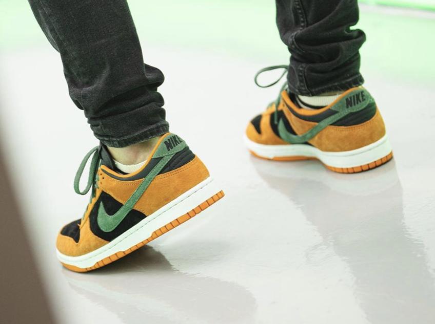 Nike Dunk Low Ceramic DA1469-001 2020 On Feet