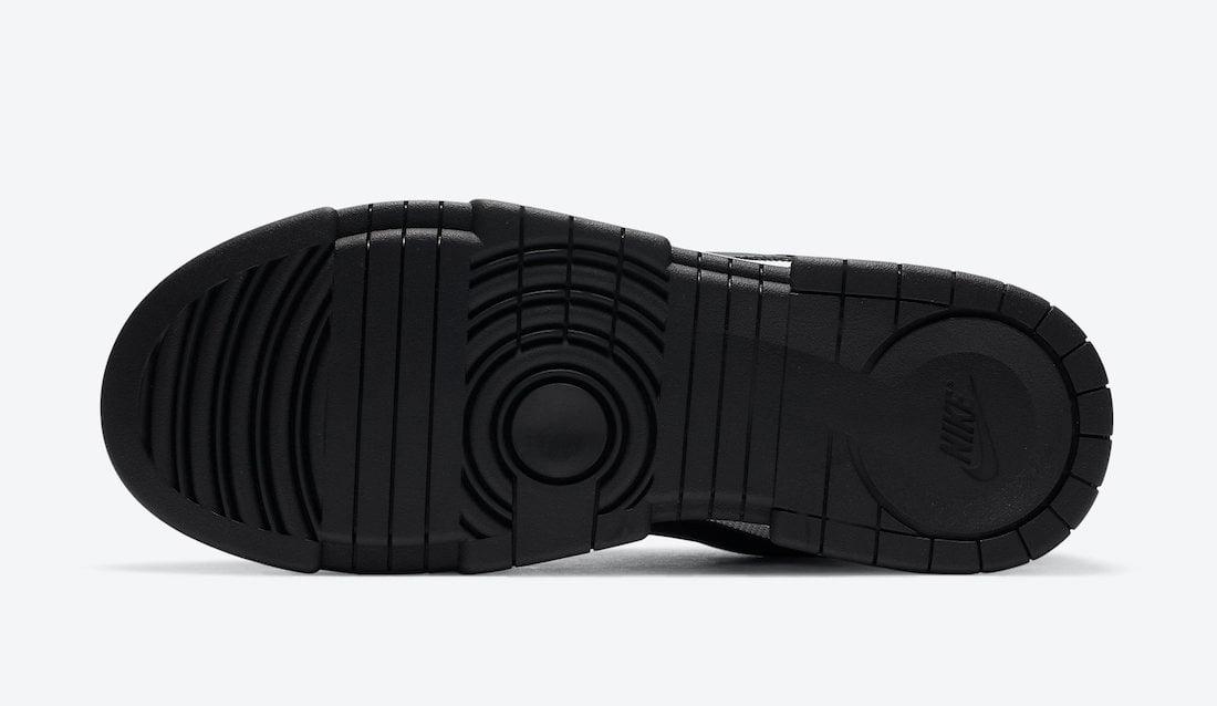 Nike Dunk Low Disrupt Black White CK6654-102 Release Date Info