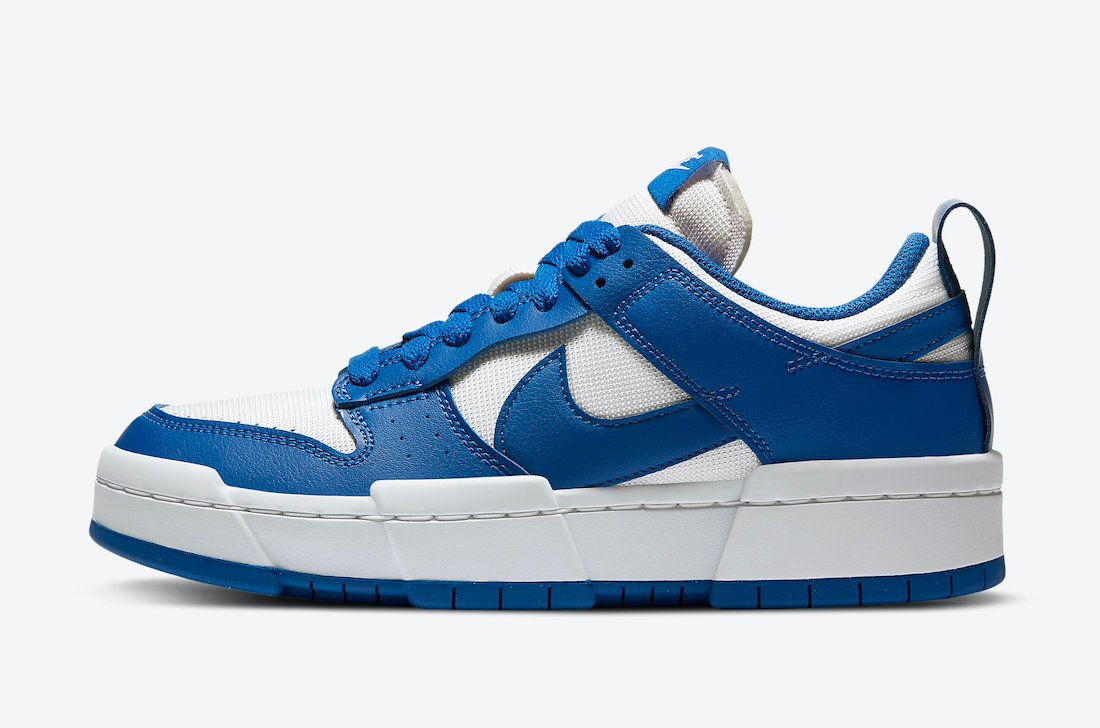 Nike Dunk Low Disrupt Game Royal CK6654-100 Release Date Info