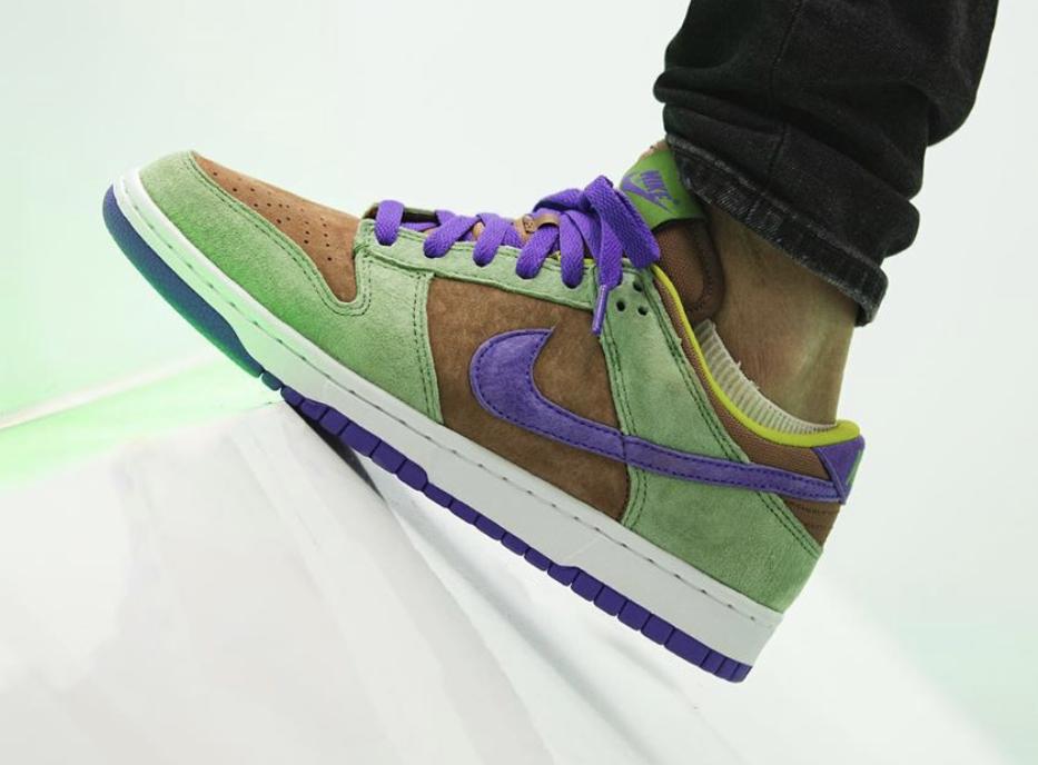 Nike Dunk Low Veneer DA1469-200 2020 On Feet