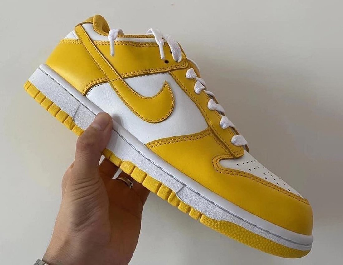 Nike Dunk Low Yellow White Release Date Info