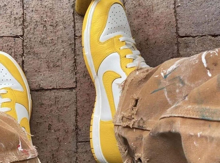 Nike Dunk Low Yellow White