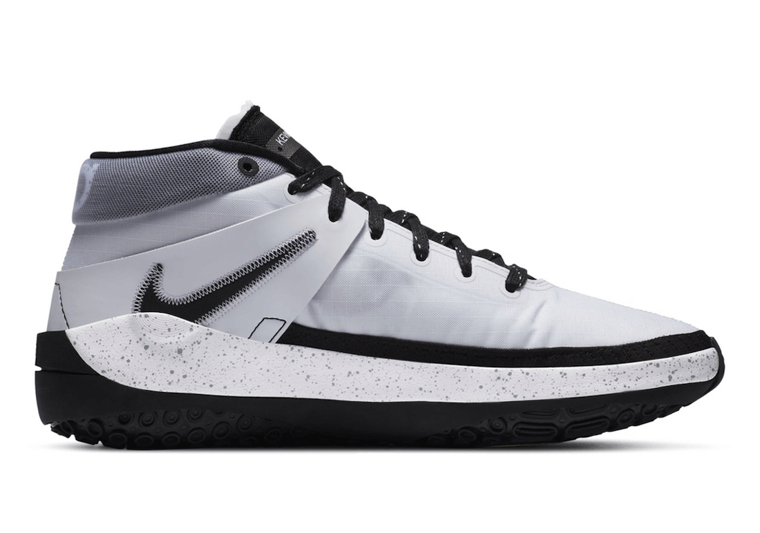 Nike KD 13 Brooklyn Nets White Grey Black Release Date Info