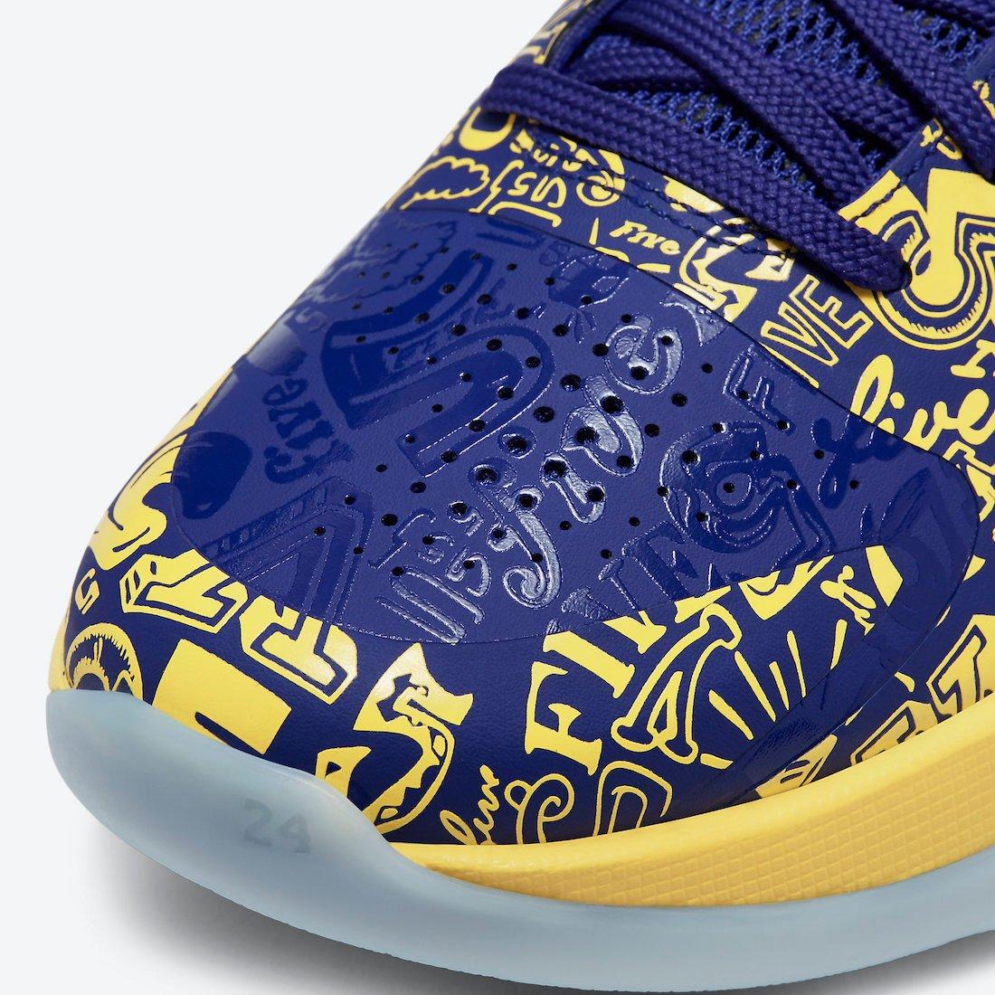 Nike Kobe 5 Protro 5 Rings CD4991-400 Release Date