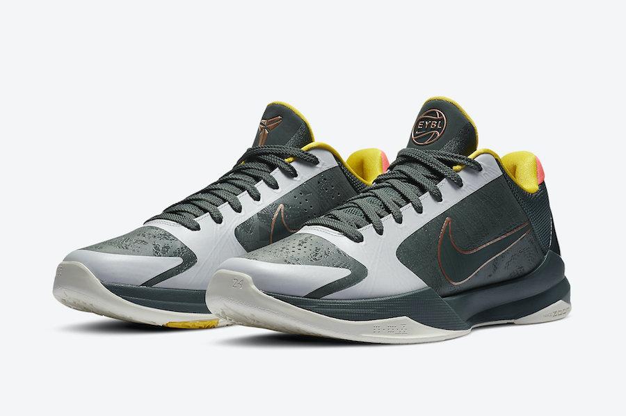 Nike Kobe 5 Protro EYBL Forest Green CD4991-300 Release Date