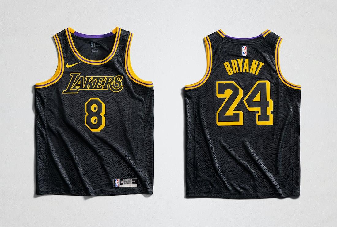 Nike Kobe Bryant Mamba Week Jersey
