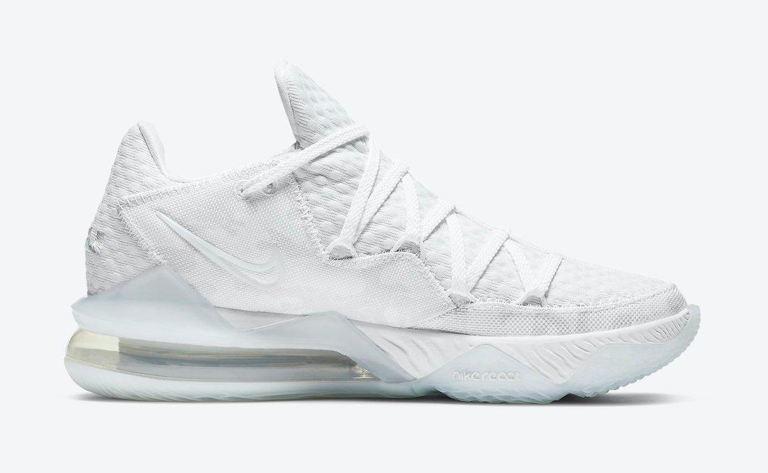 Nike LeBron 17 Low Triple White Camo CD5007-103 Release Date Info