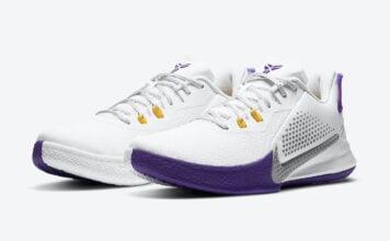 Nike Mamba Fury Lakers Home CK2088-101 Release Date Info