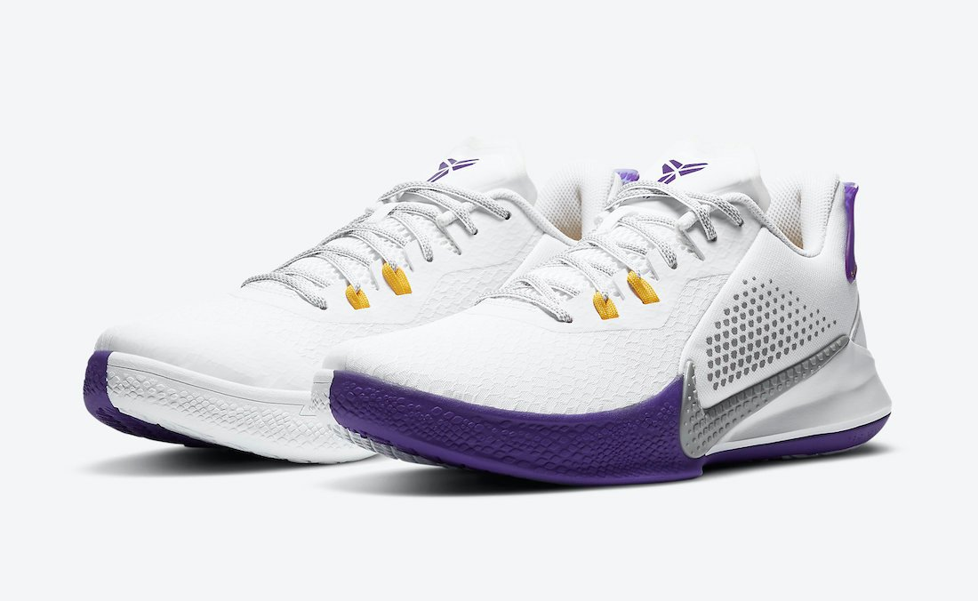 Nike Mamba Fury Lakers Home CK2088-101 Release Date Info