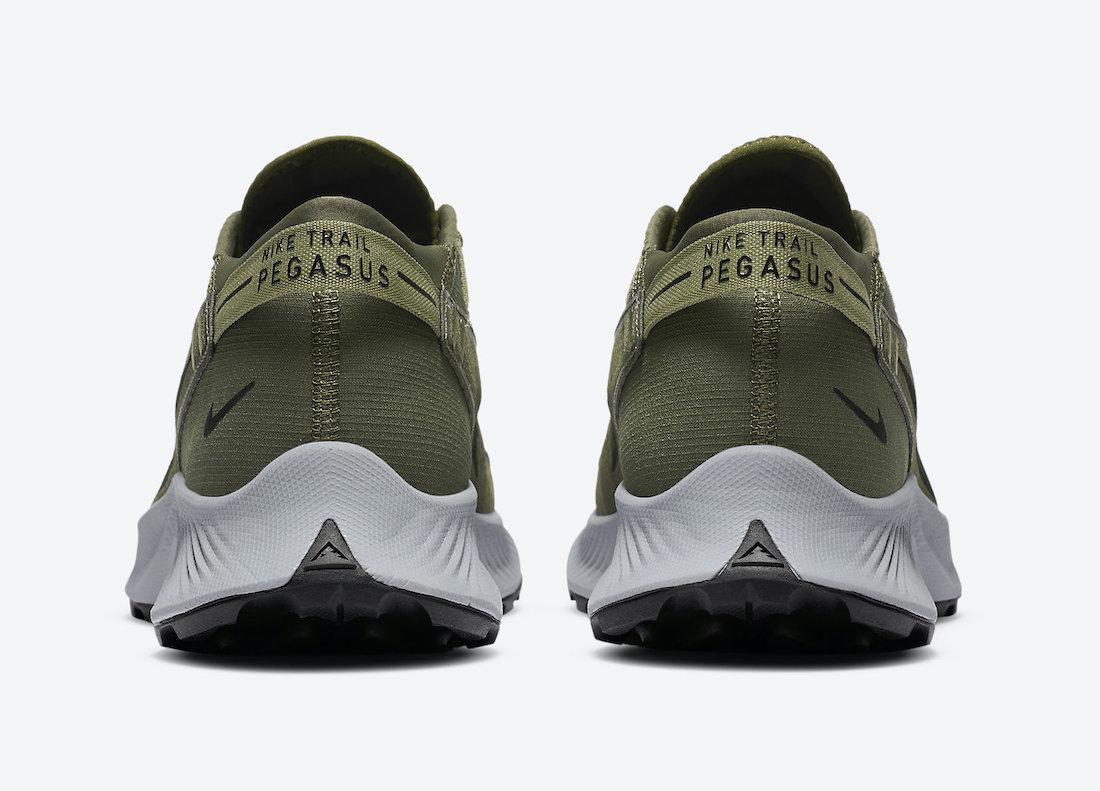 Nike Pegasus Trail 2 Medium Olive CK4305-201 Release Date Info
