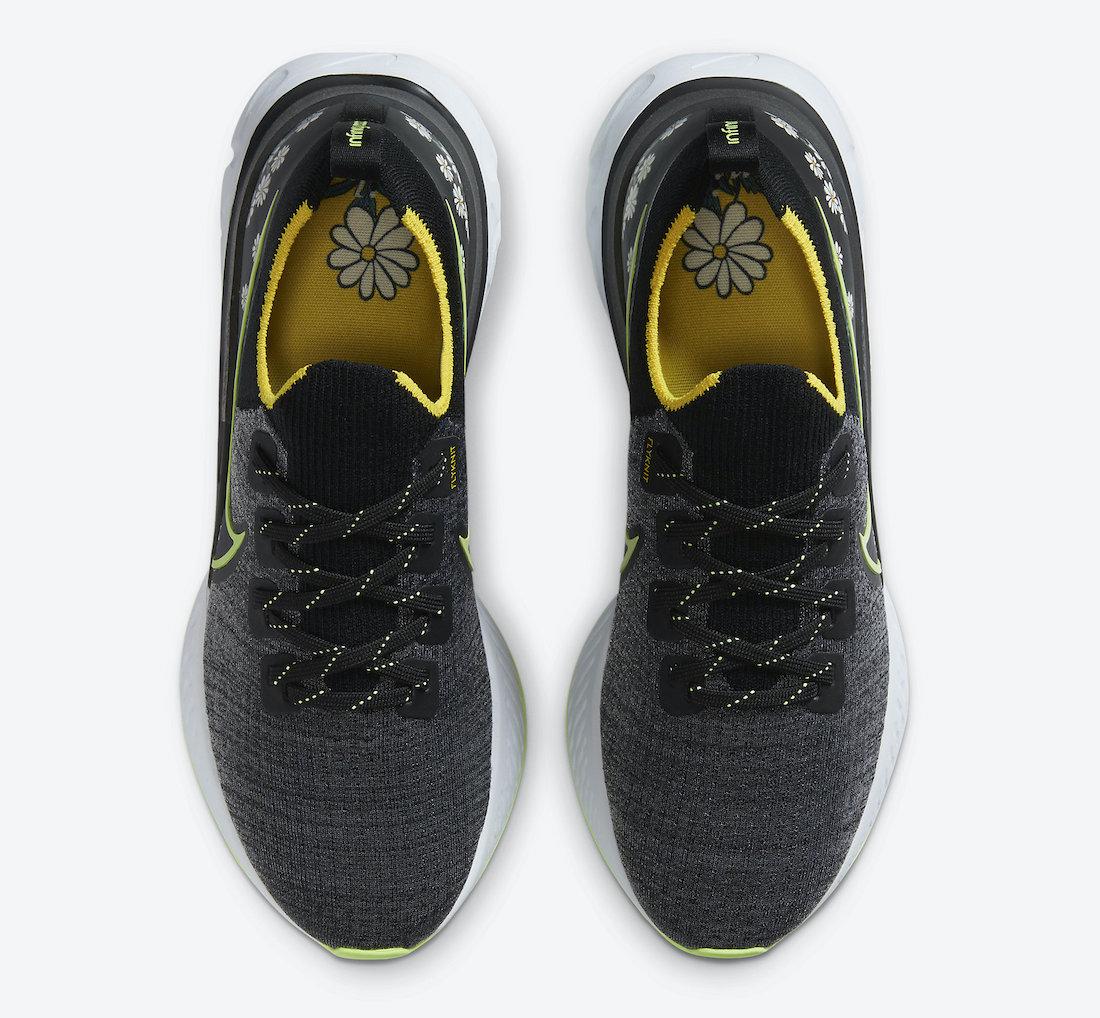 Nike React Infinity Run Daisy CW5573-001 Release Date Info