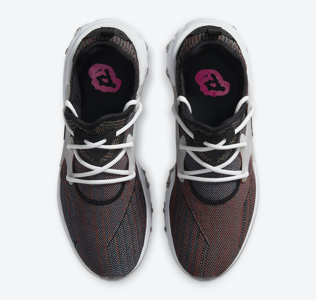 Nike React Presto Flyknit Multi-Color CN1709-001 Release Date Info