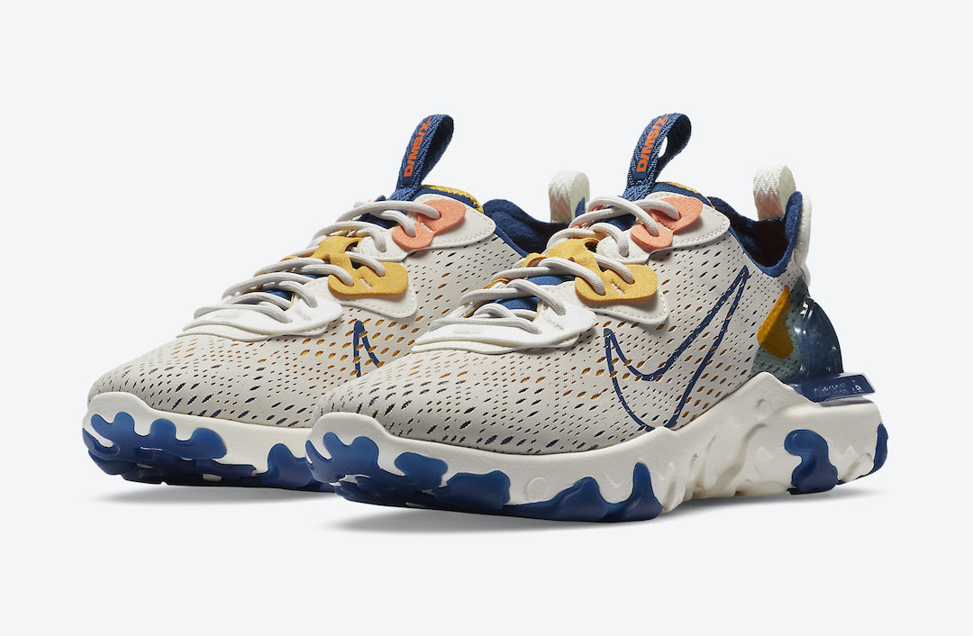 Nike React Vision Light Orewood Brown CD4373-103 Release Date Info