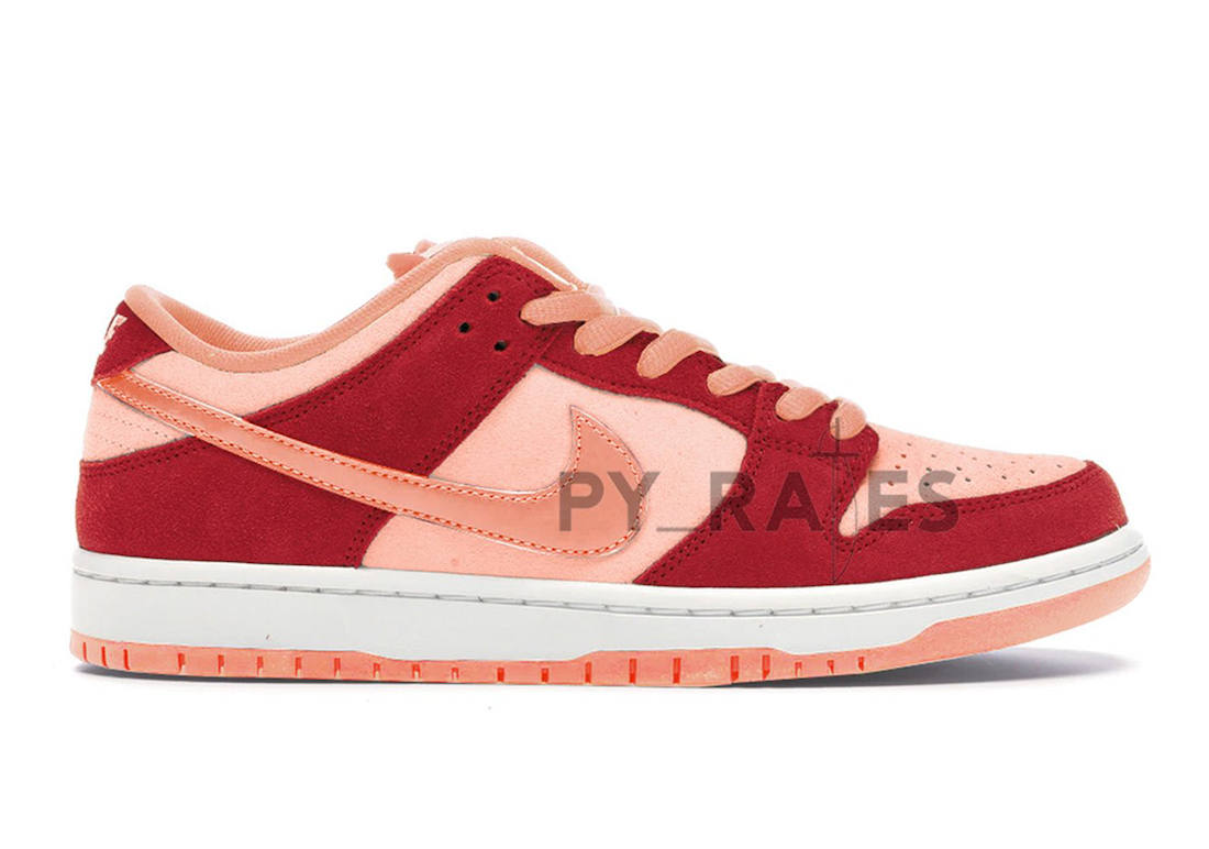 Nike SB Dunk Low Atomic Pink University Red Release Date Info