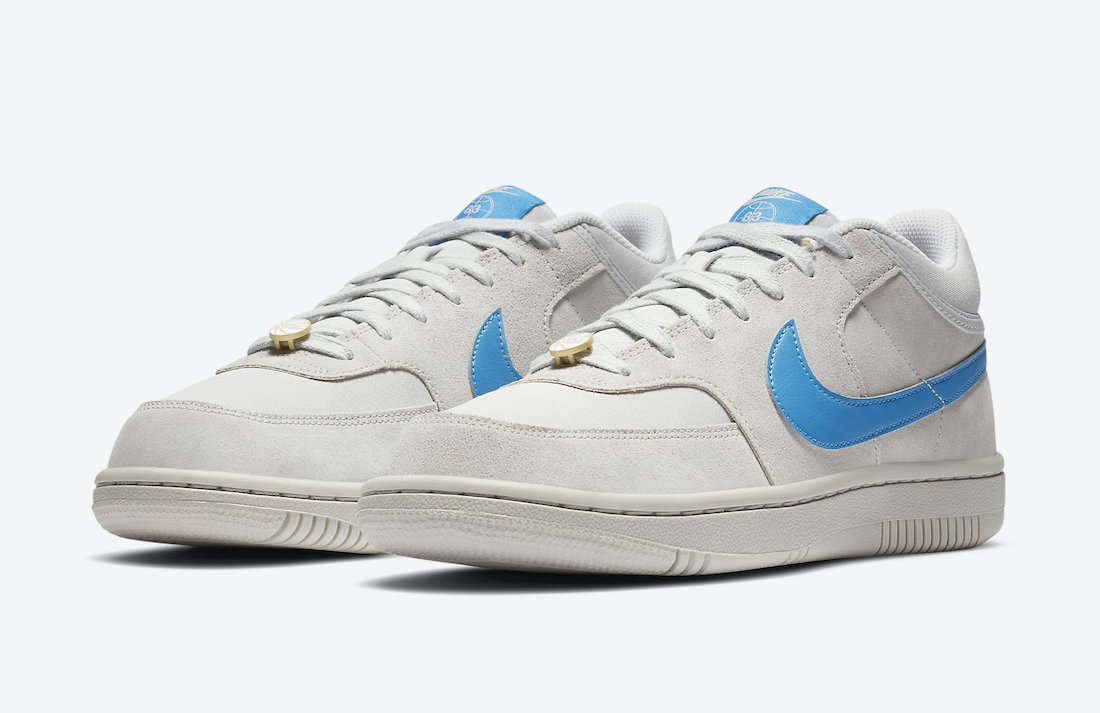 Nike Sky Force 3/4 Grey Fog Light Photo Blue CV0600-001 Release Date Info