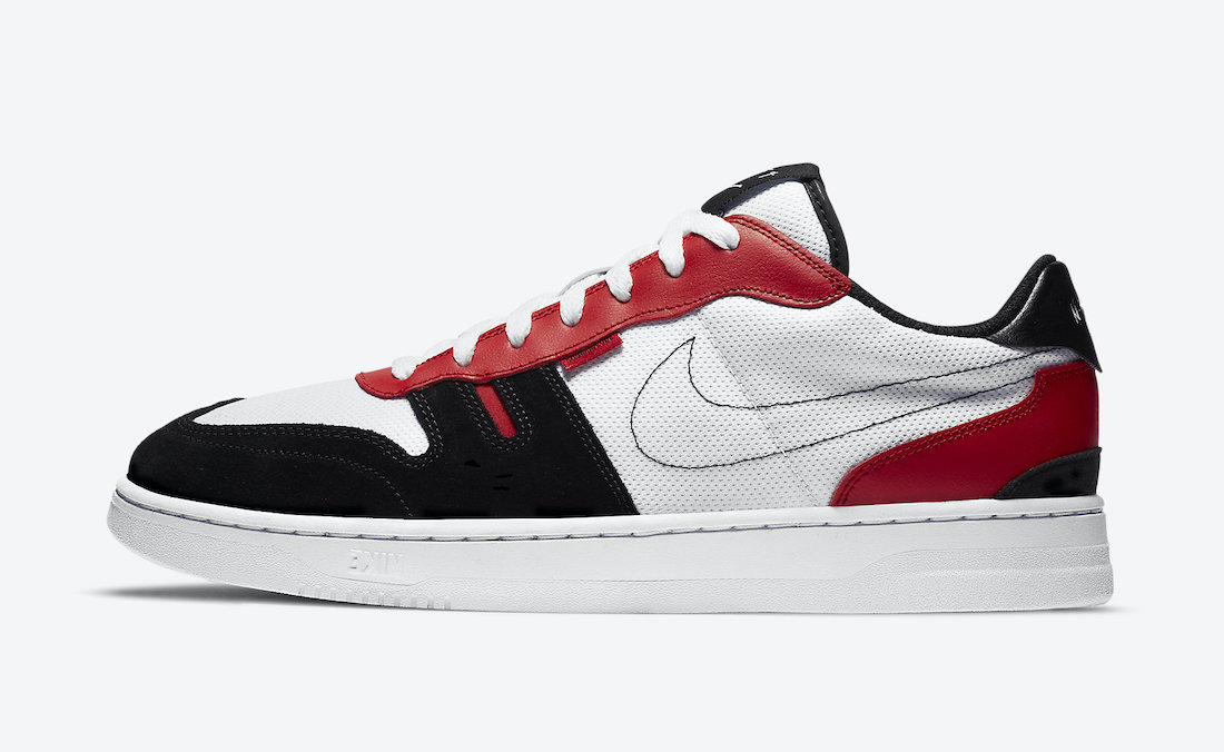 Nike Squash-Type White University Red Black CJ1640-103 Release Date Info